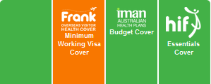 457 Visa Health Cover Comparison Logos