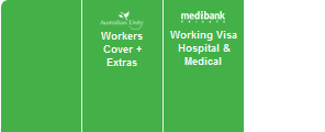 457 Visa Health Cover Logos